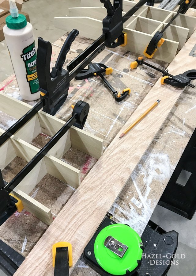 Assemble another layer DIY Bathroom Drawer Organizer