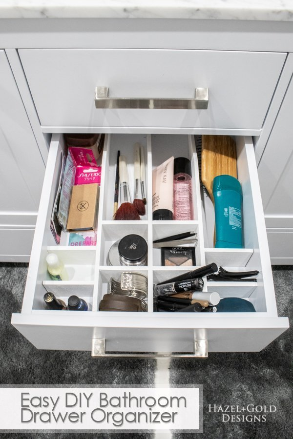 Attirant Easy DIY Bathroom Drawer Organizer Pinterest Image