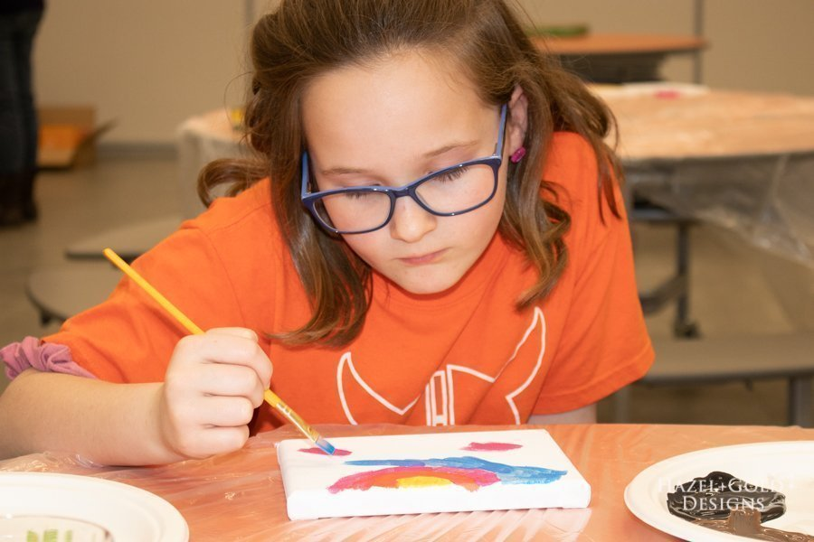 paint the real world 2 girl scout brownie painting badge ideas