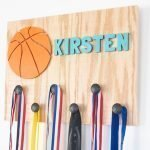 Wooden DIY Sports medal holder