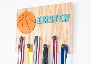 Wooden DIY Sports medal holder