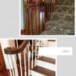 diy staircase renovation