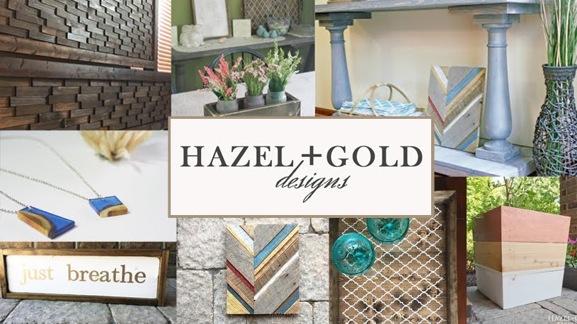 facebook hazel and gold designs image