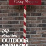 Cotton Headed ninny muggins diy wooden sign pin